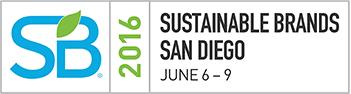 SB2016 SUSTAINABLE BRANDS SAN DIEGO JUNE 6-9